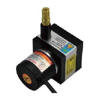 宜科全金属封装微型拉线编码器KDM系列